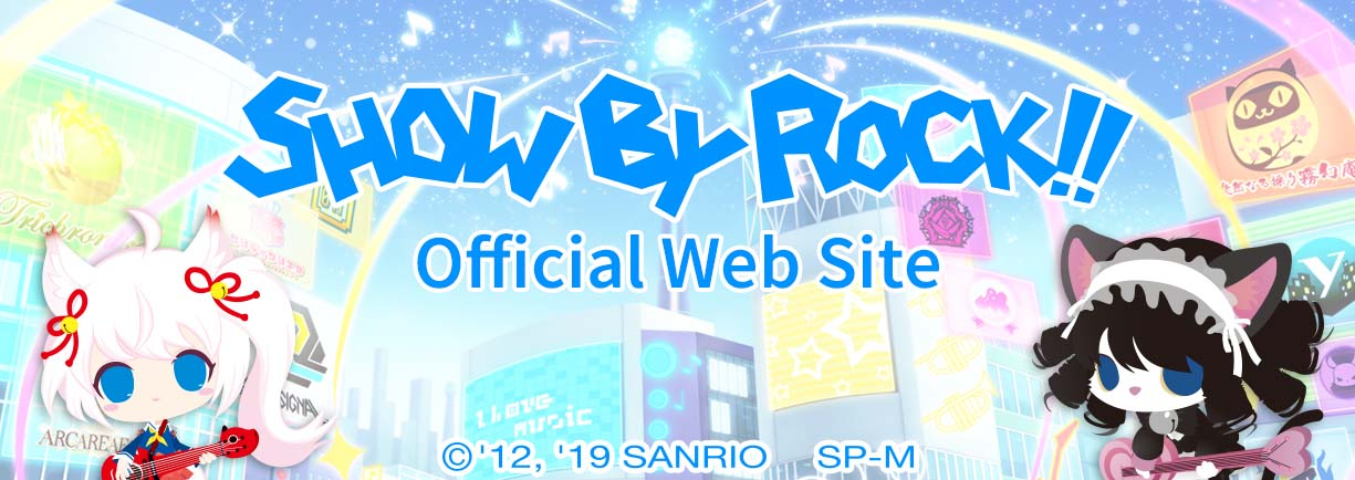 SHOW BY ROCK!! Official Web Site